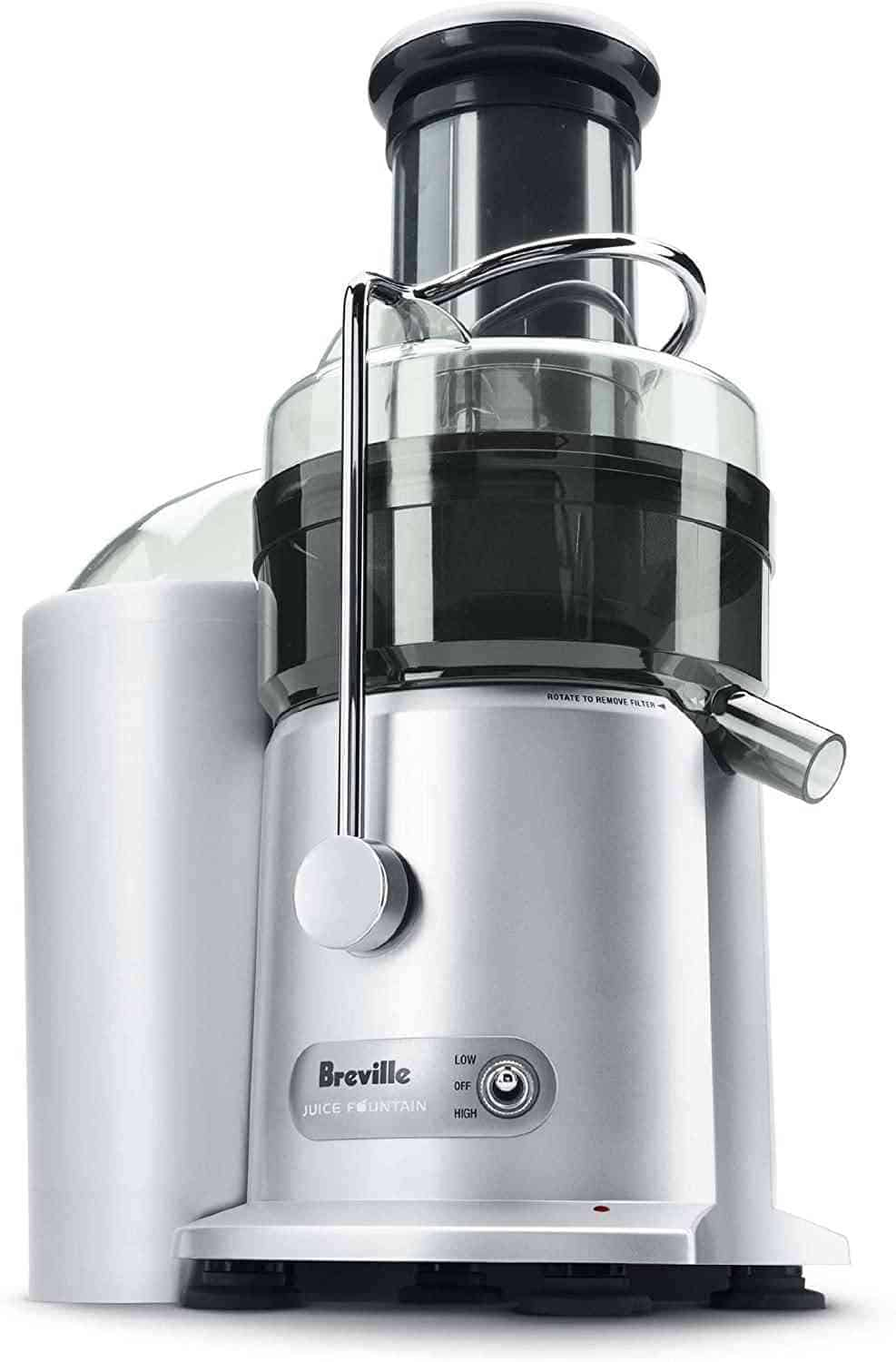 Breville JE98XL Stainless-Steel Centrifugal Fountain Juicer
